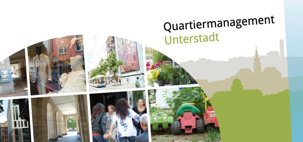 Quartiermanagement Flyer